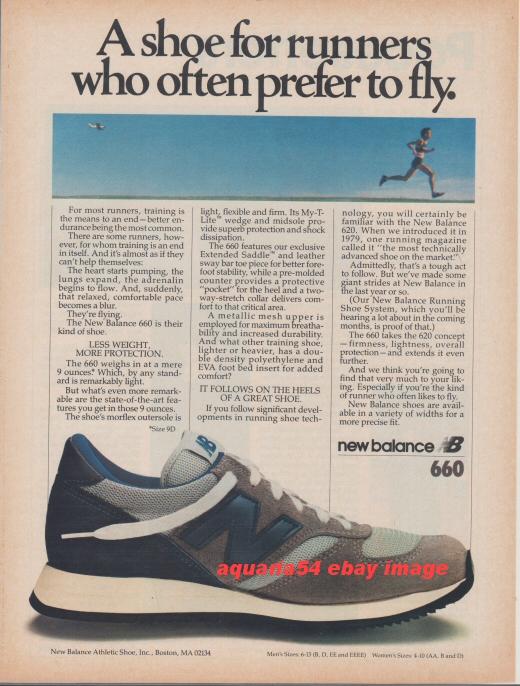1981 Vintage New Balance NB 660 light Running Shoe Photo ...