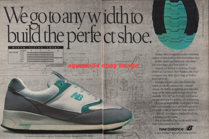 1991 Vintage New Balance Running Shoes NB W526 Different ...
